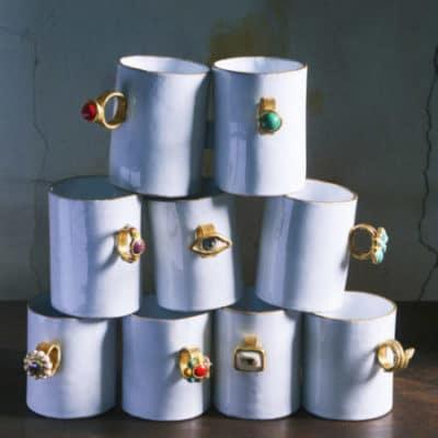 Les tasses Serena Carone d'Astier de Villatte